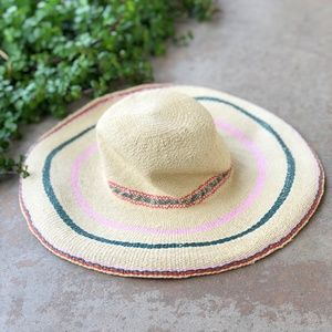 4686ad20056 Madewell Accessories - Madewell Biltmore Tulum Striped Straw Hat